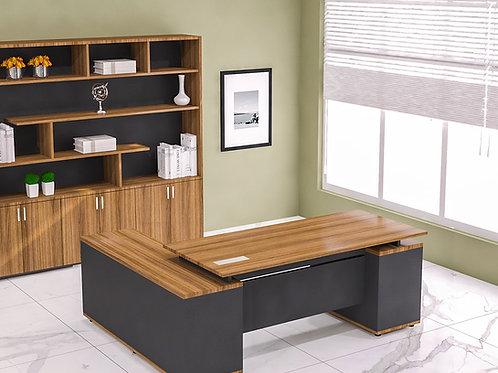 Ivan Director's Table in Cinnamon