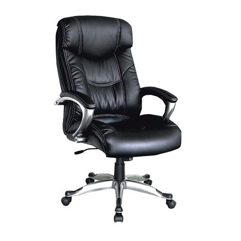 Nikos High Back Ergonomic Chair in Glossy Black