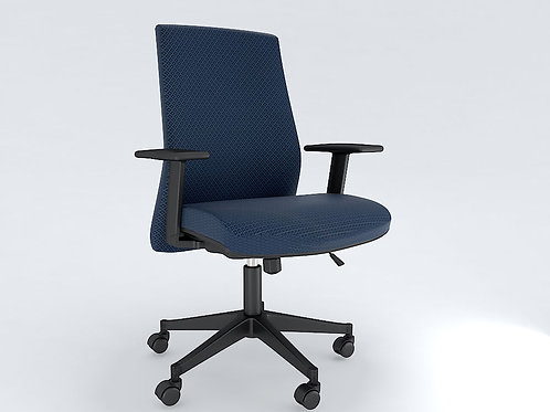 Italo Ergonomic Chair in Royal Blue