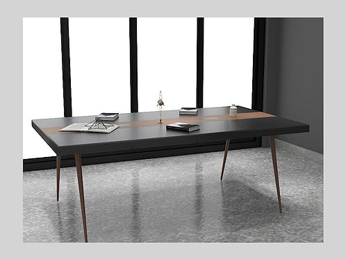 Ferrando Conference Table in Dark Oak