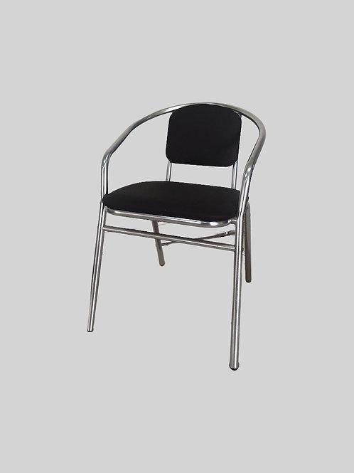 Elena Visitors Chair in Black