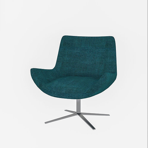 Matilda Cosy Chair In Pine Green