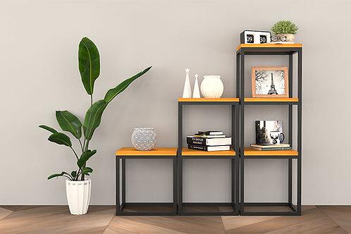 Luca Display Cabinet In Metal Finish