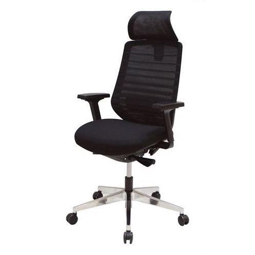 Rise Black Mesh Chair