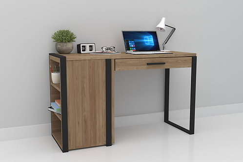 Jack Work From Home Table in Light Pecan