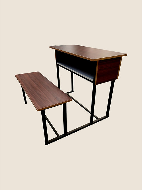 Jorge School Desk in Traditional Walnut