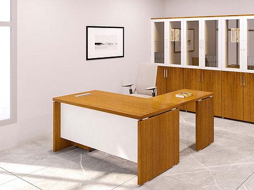 Simon Executive Table in Golden Oak