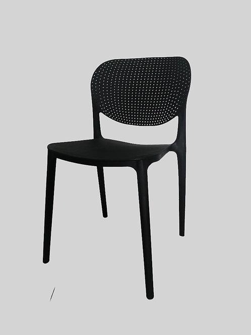 Lucas Visitor Chair in Dark Grey