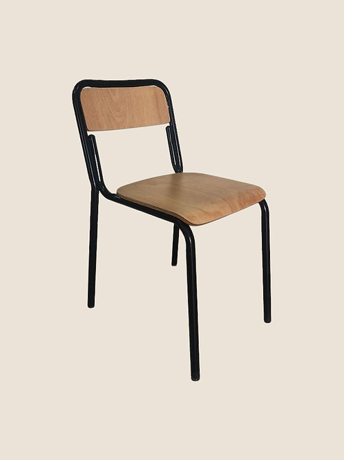 Aria Visitors Chair in Beech Colour