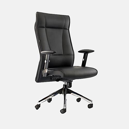 Bates High Back Ergonomic Chair in Corporate Black
