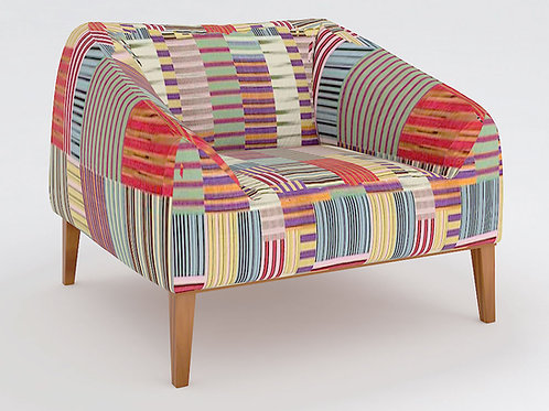 Lamberto Relaxing Chair In Mosaic Pattern