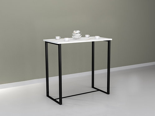 Aragon Bar Table in Marble White