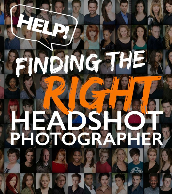 Finding the right headshot photographer