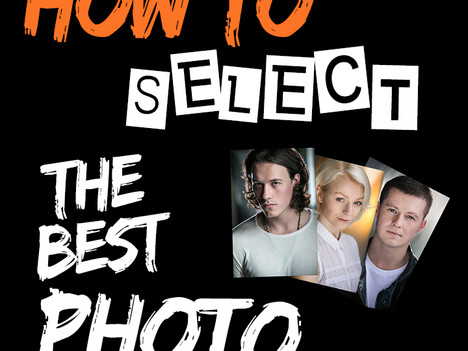 How to select the best headshots for your casting