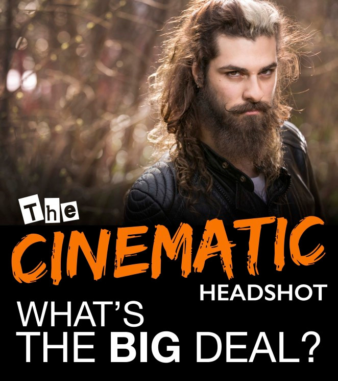 The Cinematic Headshot - A landscape headshot, LA style