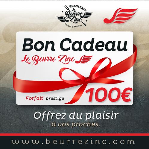 BON CADEAU • 100€