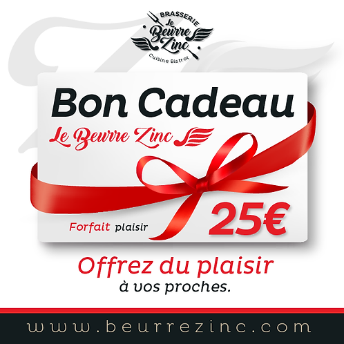 BON CADEAU • 25€
