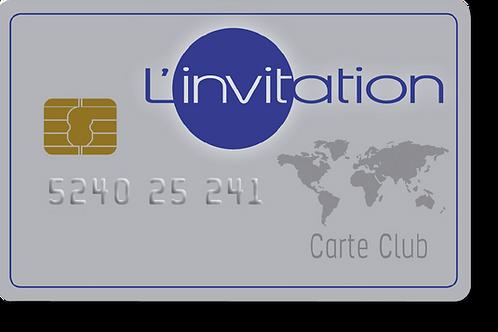 Carte L'invitation