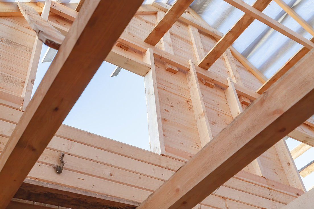 wooden-roof-frame-and-wall-from-timber-h