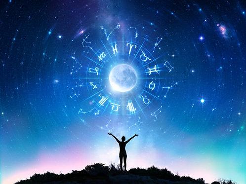 Lecture du thème astral à distance