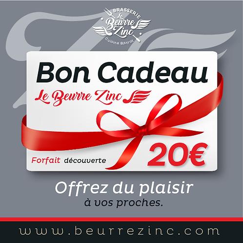 BON CADEAU • 20€