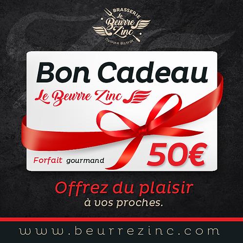BON CADEAU • 50€