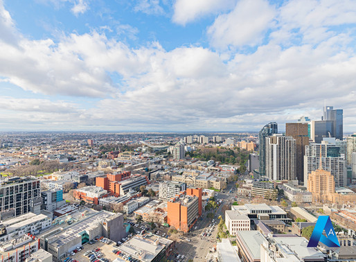Verve: 483 Swanston Street, Melbourne - Apartment 3803 - 3 Beds 2 Baths fully furnished - CITY VIEW!