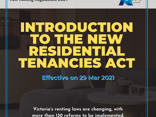 Introduction to the new Residential Tenancies Act
