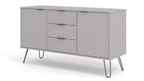 Augusta Grey Medium Sideboard