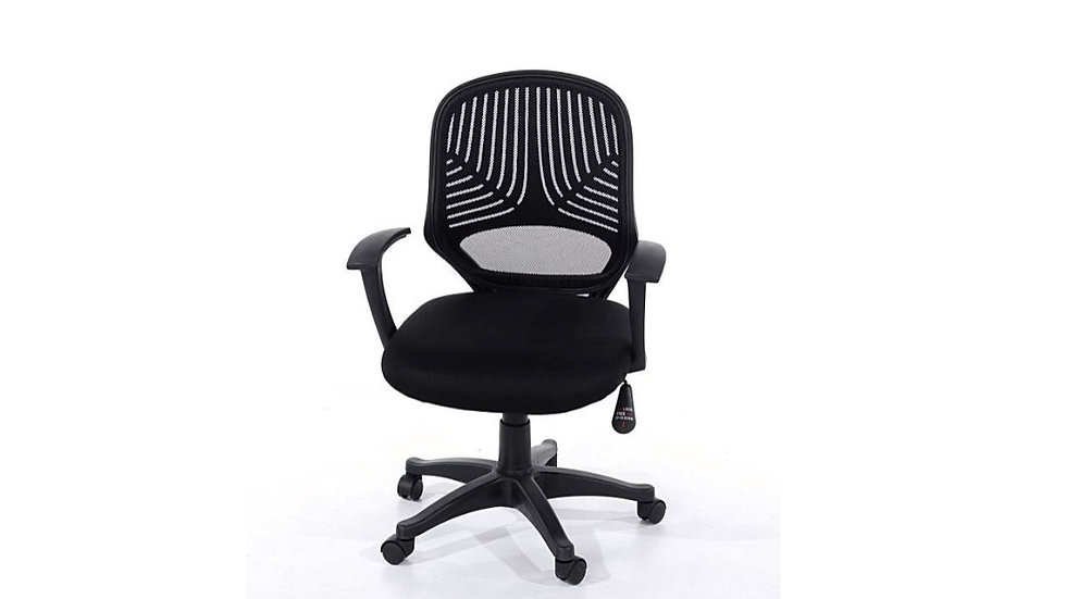 Home Office Chair Black, Mesh back