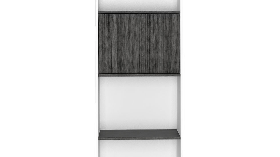 Dallas Bookcase with Doors