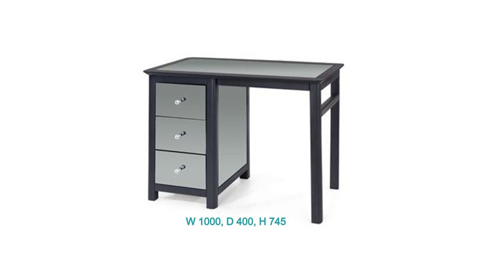 Ayr Single Pedestal Dressing Table