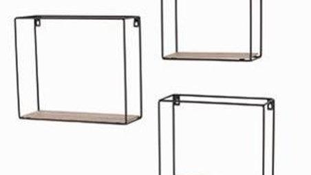 Loft Wire set of 3 Shelves