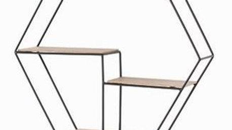 Loft Wire Hexagonal Shelf