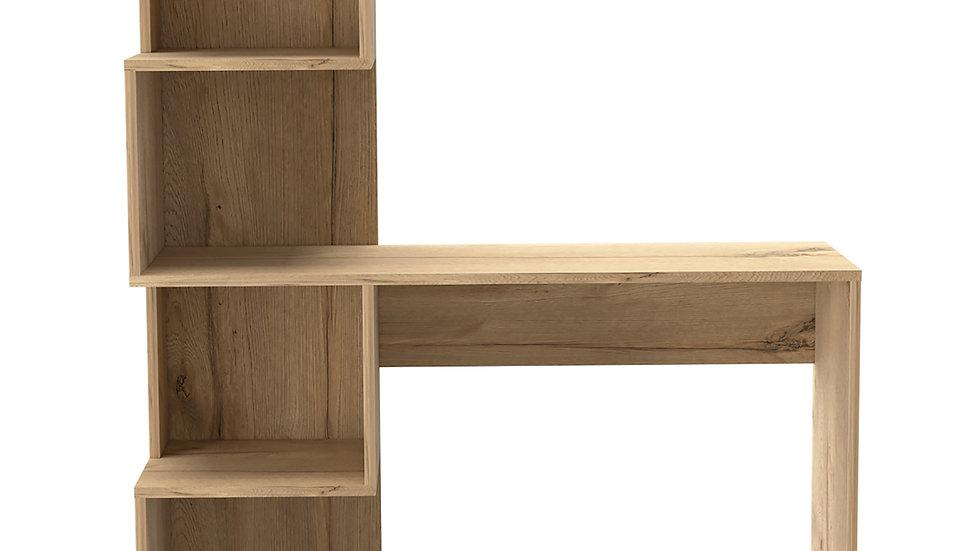 Brooklyn Desk With Tall Shelf