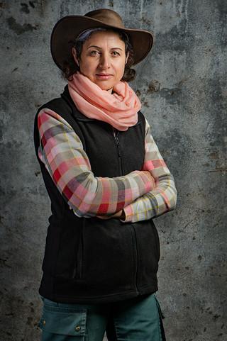 Annie Hoarau, éleveuse boeufs pays