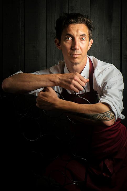 Jehan Colson, chef du restaurant La Fabrique