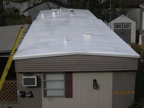Exceptional Mobile Home Roofing.