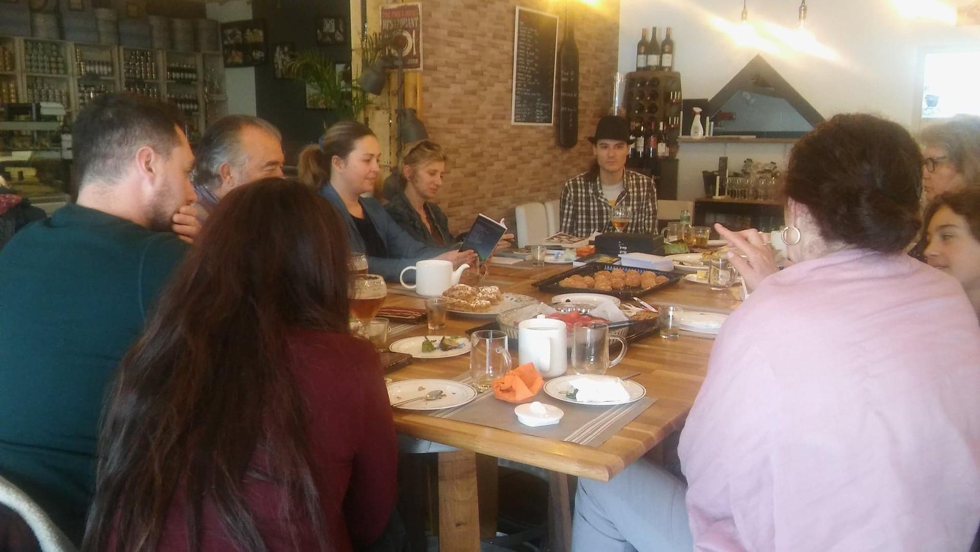 Club de lecture Franco-Roumain - 7 avril 2019