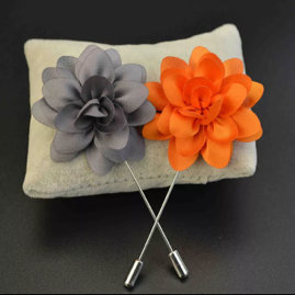Daisy flower lapel pin