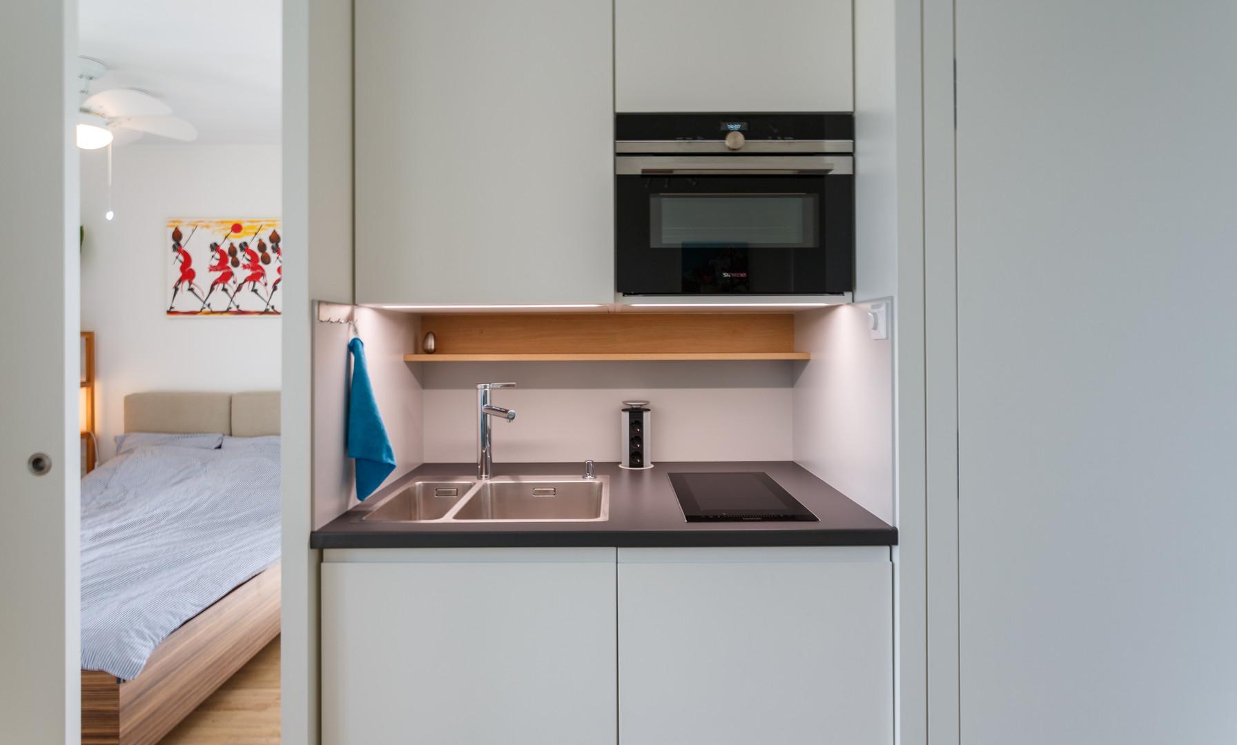 Immoblienfotografie Prater Neubau Küche