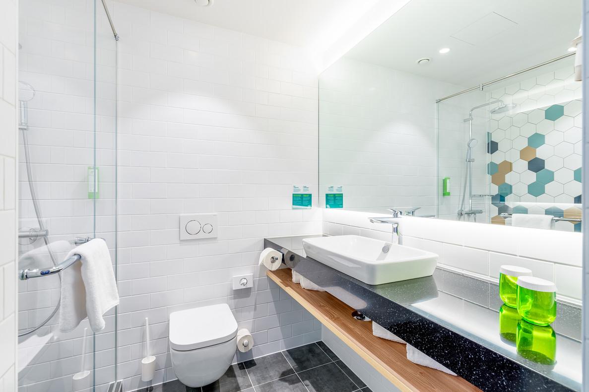 Hotel Room Fotografie Bathroom Holiday Inn Vienna South