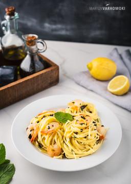 2020-07-23 Linguini a gamberi e limone-1