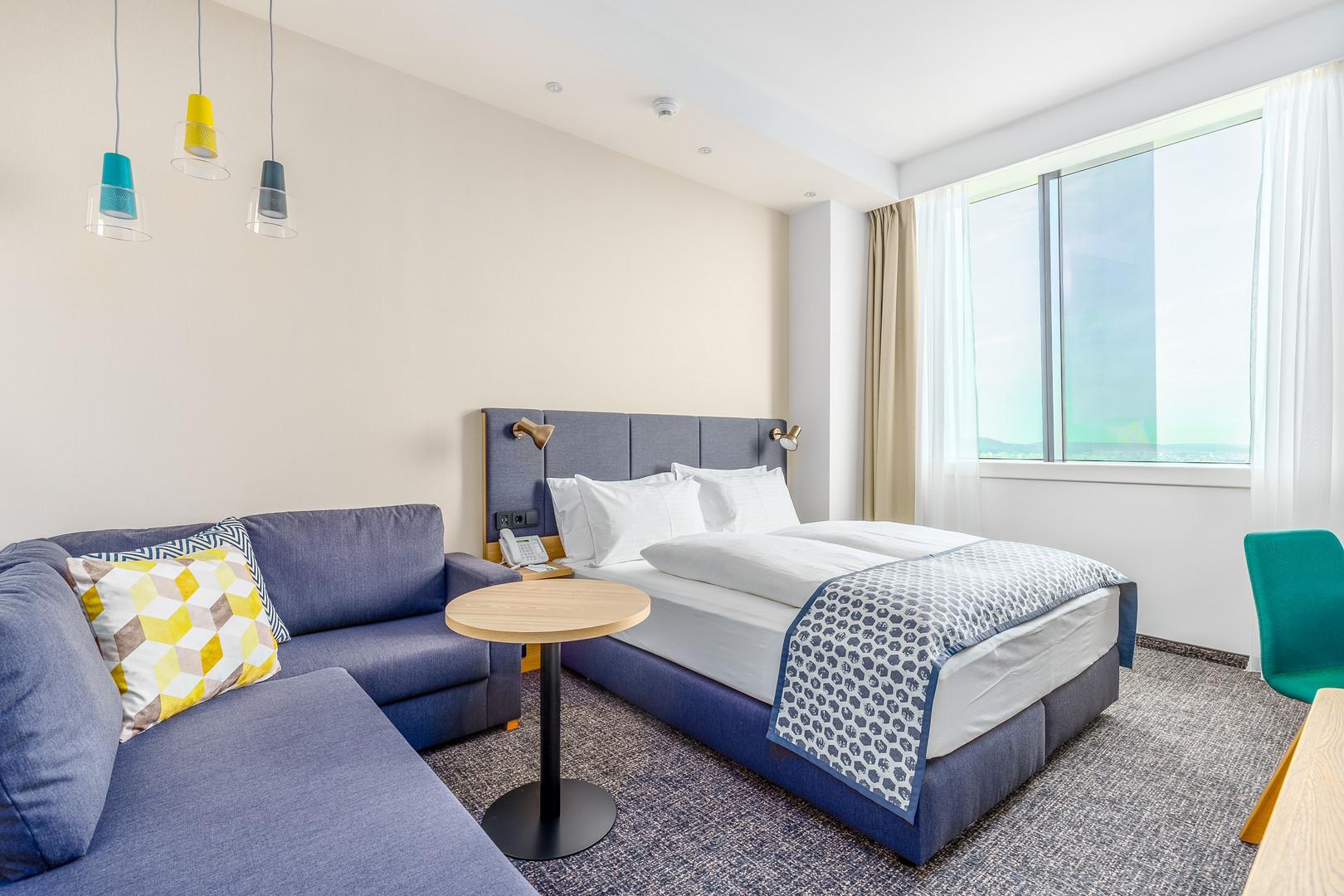 Hotel Room Fotografie Holiday Inn Vienna South