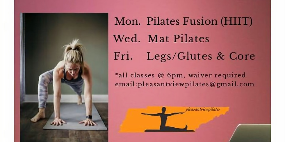 Free Virtual Pilates Fusion (HIIT)