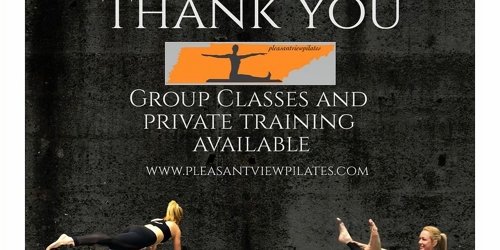 Pilates Fusion classes at No Limit Fitness