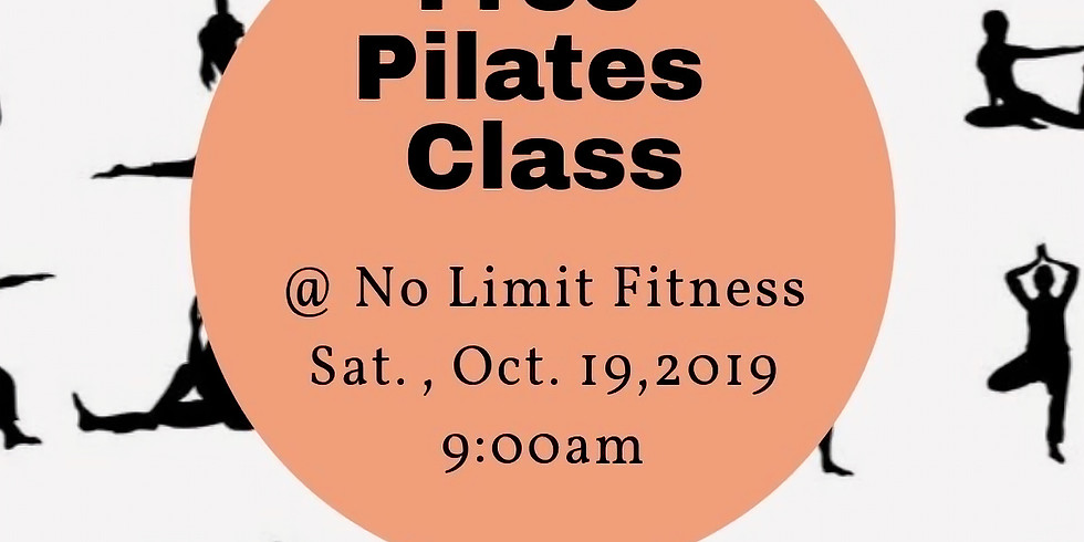 Free Pilates Class at No Limit Fitness!