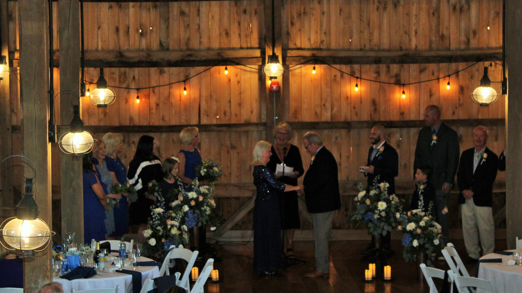 Magical location for the wedding ceremony as well as reception