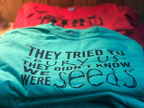 Rooted Seeds Tee