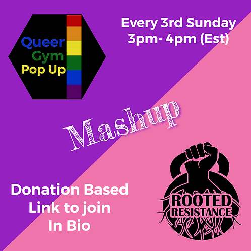 Donations for RR + Queer Gym Mash up
